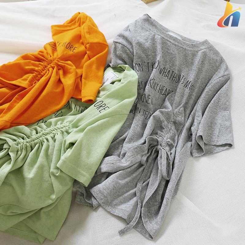 6196 Korean version of the solid color letter fold short-sle - 14888740 , 2854219075 , 322_2854219075 , 251100 , 6196-Korean-version-of-the-solid-color-letter-fold-short-sle-322_2854219075 , shopee.vn , 6196 Korean version of the solid color letter fold short-sle