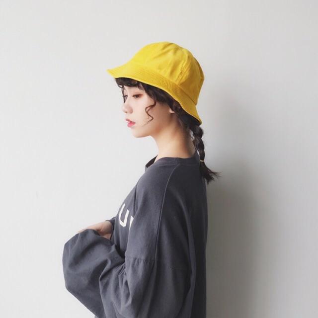 Mũ Maruko - mũ tai bèo mũ bucket mũ rộng vành sẵn đen đỏ vàng Nón - 3037320 , 575975401 , 322_575975401 , 140000 , Mu-Maruko-mu-tai-beo-mu-bucket-mu-rong-vanh-san-den-do-vang-Non-322_575975401 , shopee.vn , Mũ Maruko - mũ tai bèo mũ bucket mũ rộng vành sẵn đen đỏ vàng Nón