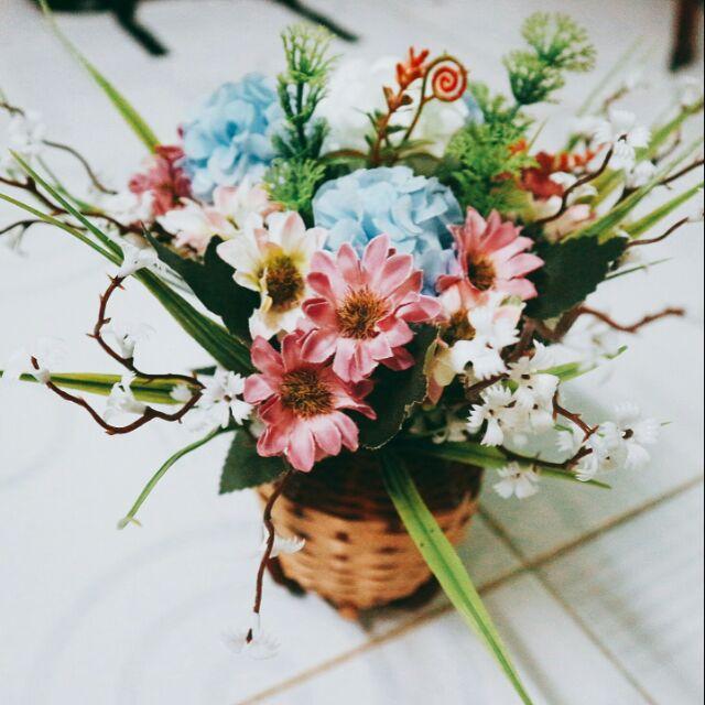 Xe chở hoa