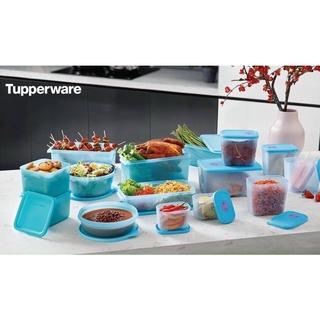 Bộ Đôi Trữ Đông Và trữ Mát 15 hộp Tupperware vì dịch cty ko sản xuất kịp thùng giấy, chỉ có túi vải Tupperware ạ)