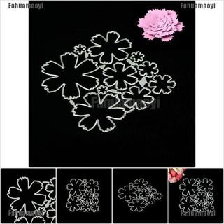 Fahuamaoyi N Stereoscopic flowers Metal Cutting Dies Stencils for DIY Scrapbook Album Cards FA