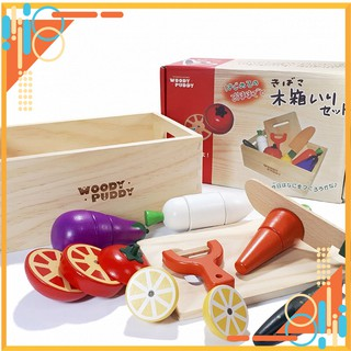 Đồ Chơi Thông Minh – Cắt trái cây nam châm, đồ chơi nhà bếp xinh xắn cho bé gái.