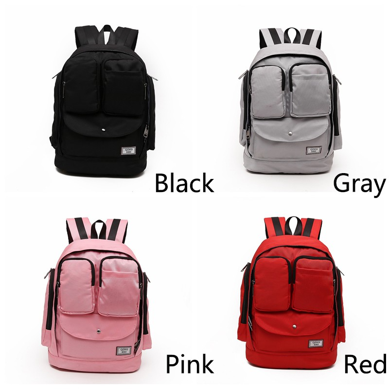 Women Travel Bag Nylon Waterproof Backpack Multifunction