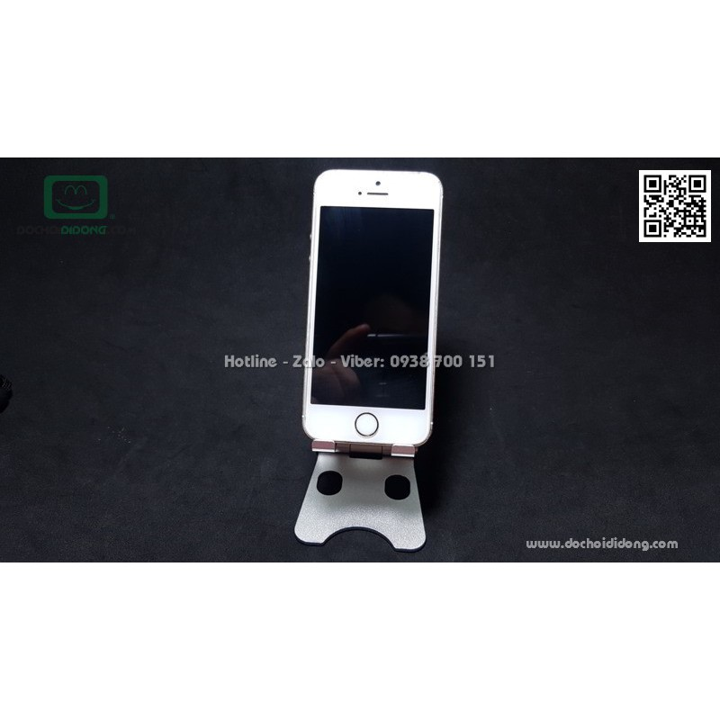 Giá đỡ điện thoại bằng nhôm nguyên khối