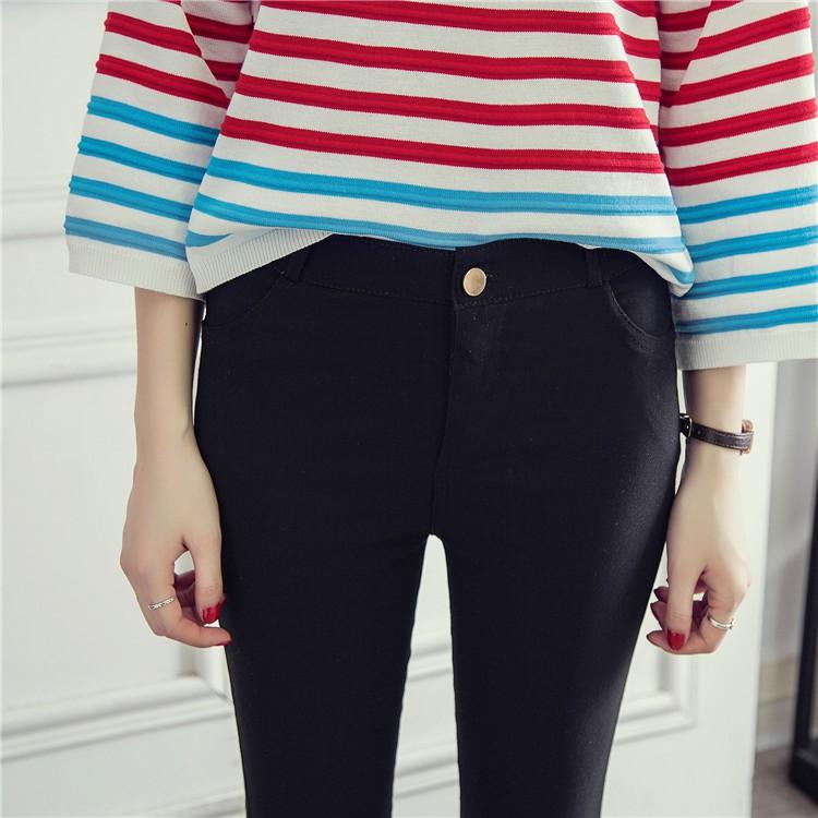 Quần legging dáng ôm lưng cao cá tính năng động cho nữ