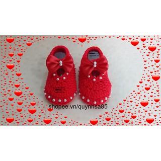 Giày len cho bé M235 – baby shoes /sandals crochet