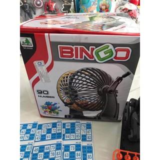 bộ lô tô quay số bingo 90 number (loại lớn)