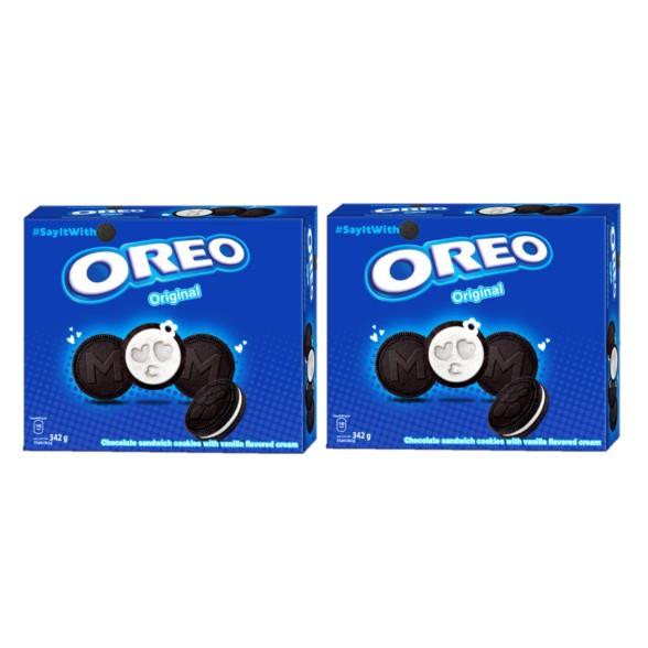 Combo 2 hộp Bánh Oreo Vanilla 342g/
