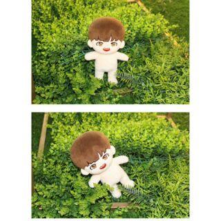 Doll J-hope (tặng kèm card hope , dán má + sticker)