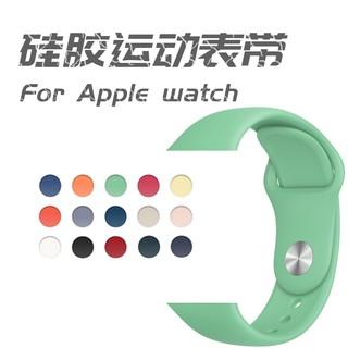Dây Đeo Silicon Thay Thế Cho Đồng Hồ Thông Minh Apple Watch 1 / 2 / 3 / 4 / 5 Thời Trang