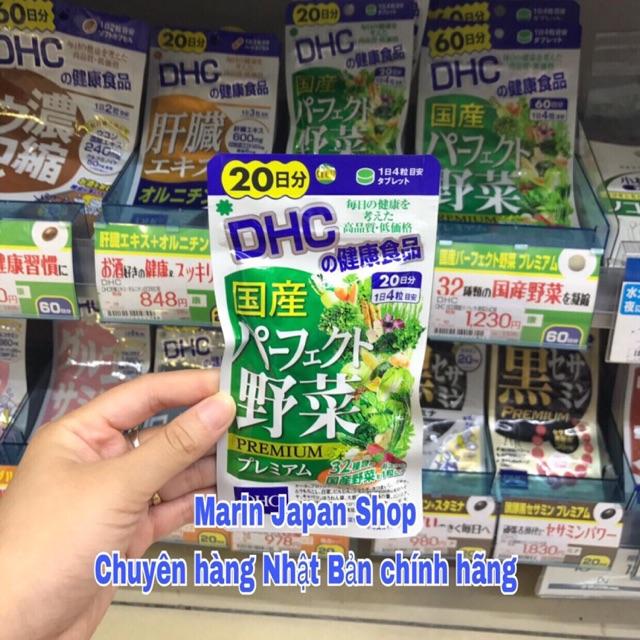 Viên uống rau củ D H C 20 ngày Nhật Bản - 3522427 , 1261853910 , 322_1261853910 , 180000 , Vien-uong-rau-cu-D-H-C-20-ngay-Nhat-Ban-322_1261853910 , shopee.vn , Viên uống rau củ D H C 20 ngày Nhật Bản