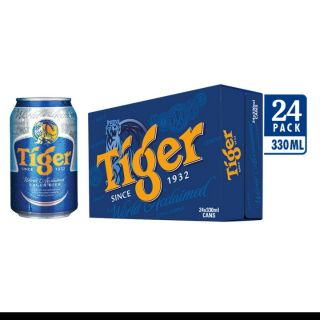 Bia Tiger thường thùng ( 24 lon × 330ml )
