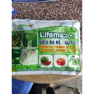 Gói phân bón lá 1kg Lifemax S giúp lá vàng thành lá xanh. giá siêu tốt