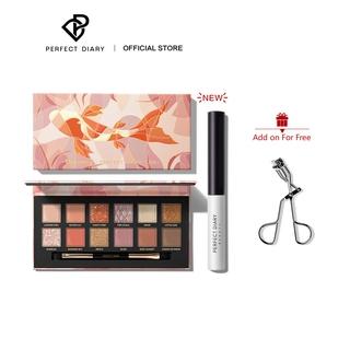 Perfect Diary Eye Set Eyeshadow Palette+Black Mascara thumbnail