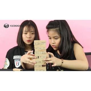 Combo 2 Đồ chơi rút gỗ thông minh giúp trẻ sáng tạo BTIỆN LỢI