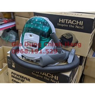 Máy hút bụi Hitachi CV-BF16 24CV(GN) - BH 1 đổi 1 theo Quy định Shop