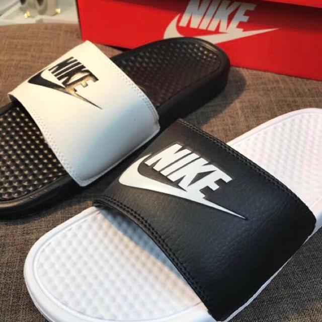 Dép lê Nike- dép lê nam nữ Nike (2 màu đen trắng) - 3596674 , 1259898438 , 322_1259898438 , 449000 , Dep-le-Nike-dep-le-nam-nu-Nike-2-mau-den-trang-322_1259898438 , shopee.vn , Dép lê Nike- dép lê nam nữ Nike (2 màu đen trắng)