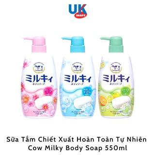 Sữa Tắm Organic Cow Brand Milky Body Soap 550 ml