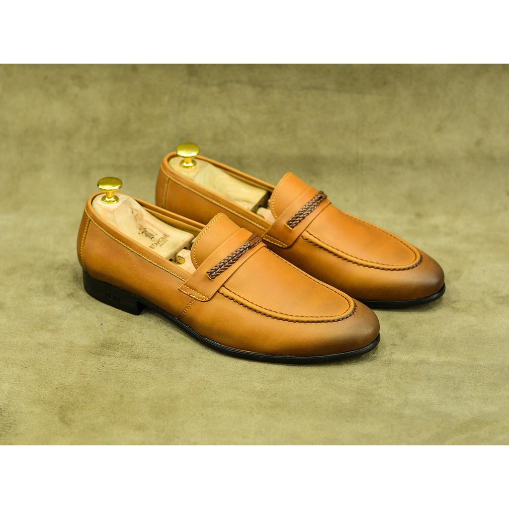 [MIỄN PHÍ VẬN CHUYỂN] Giày lười da nam chính hãng BTAHOME B019