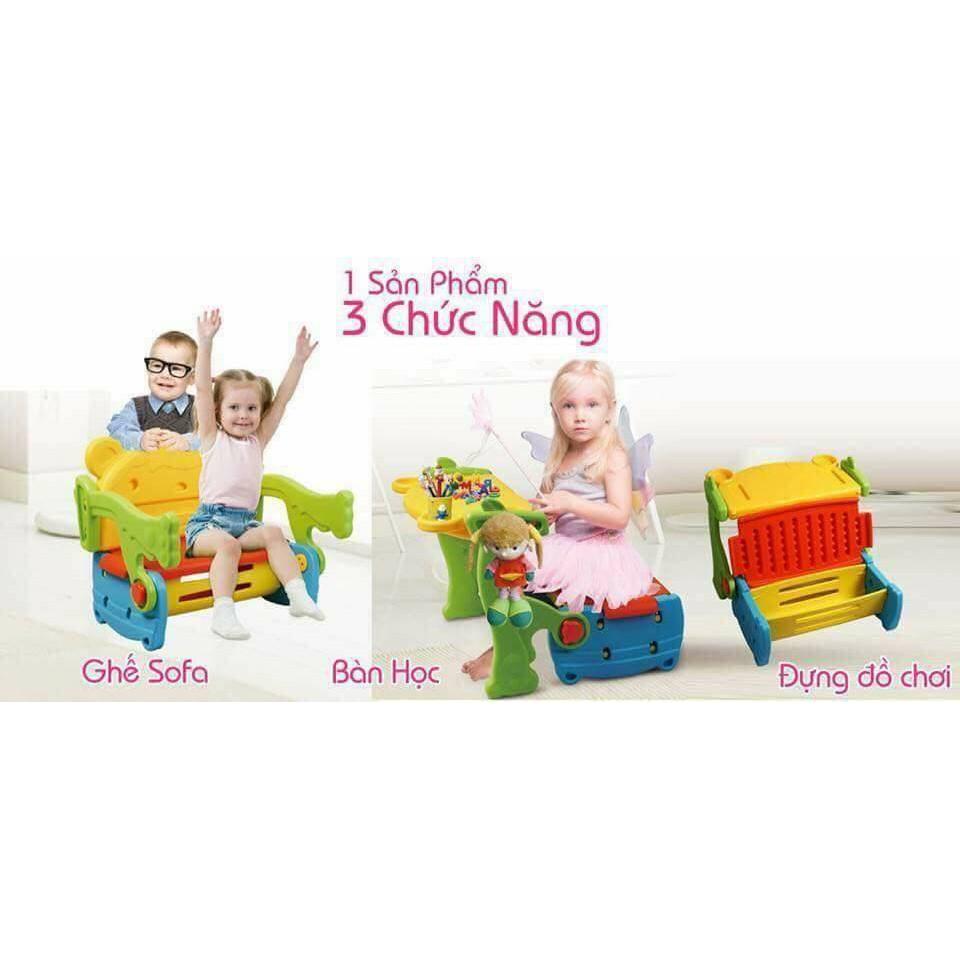 Ghế 3 in1 cực kỳ tiện lợi cho bé.