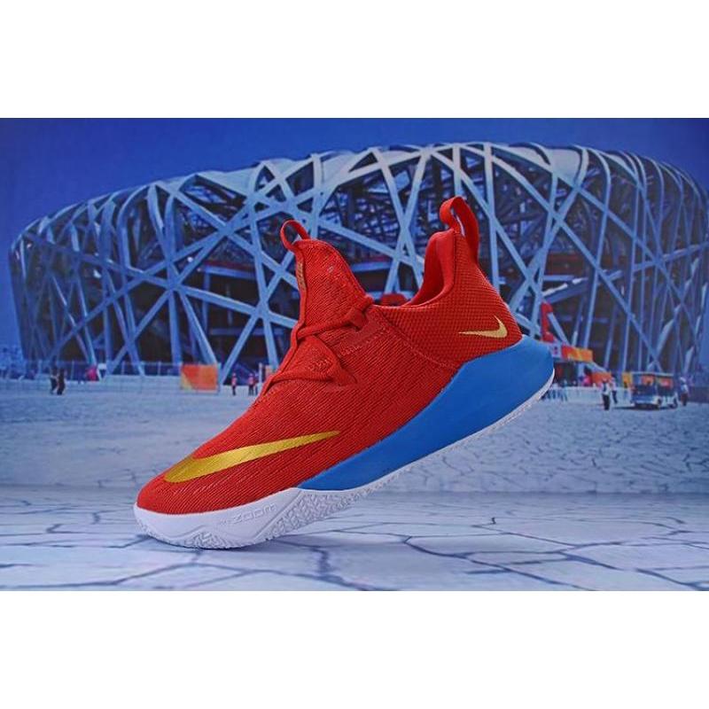 Nike Zoom Shift 2 EP Wear-Resisting Mens Original quality Sports Basketball Shoes