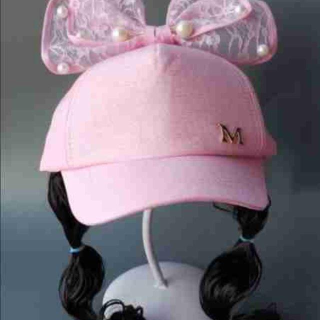 Mũ lưới trai tóc giả cho bé