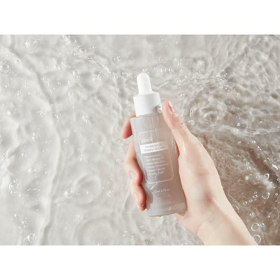 TINH CHẤT DƯỠNG DA Klairs Fundamental Watery Oil Drop 50ml | Shopee Việt Nam