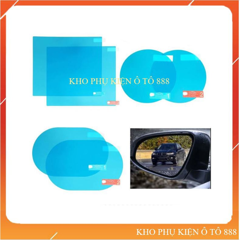 """[ NHẬP """"KHOP20A9"""" GIẢM 20K ] Dán gương dán kính chống nước cho ô tô xe máy nhiều kích thước"""