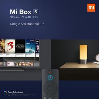 Tivi box Xiaomi Mibox S 4K 2019 Bản Quốc Tế Tiếng Việt tìm kiếm giọng nói – Chính hãng phân phối