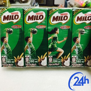 Sữa Milo 4 hộp ×180ml