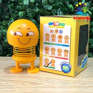 Đồ Chơi Mô Hình Thú Nhún Funny Emoji Con Lắc Lò Xo Antona