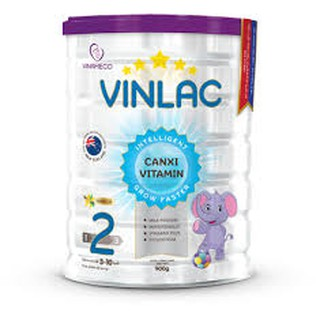 Sữa bột Vinlac Số 2 900g (Dành cho trẻ từ 3-10 tuổi)_Cúc Phương