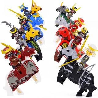 Bộ Đồ Chơi Lắp Ráp Lego Hình Samurai Nhật Bản Độc Đáo