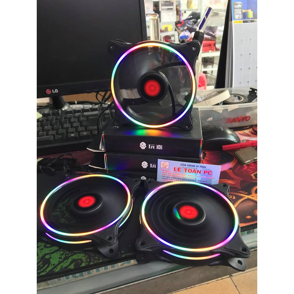 FAN LED COOLMAN RGB NEW 2018 SIÊU HOT (k cần hub) - 2395854 , 983863273 , 322_983863273 , 150000 , FAN-LED-COOLMAN-RGB-NEW-2018-SIEU-HOT-k-can-hub-322_983863273 , shopee.vn , FAN LED COOLMAN RGB NEW 2018 SIÊU HOT (k cần hub)