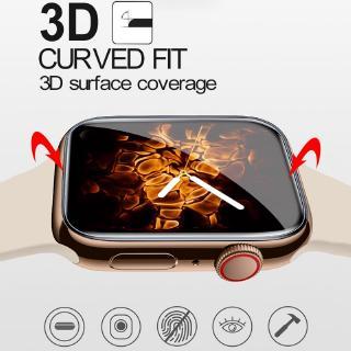 Kính cường lực bảo vệ màn hình cho đồng hồ Apple dòng 1 2 3 4 kèm phụ kiện