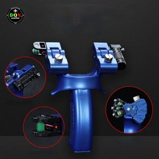 [Rẻ Vô Địch] Ná cao su ABS Lưỡi Rồng đèn LAZER thước thủy có điều chỉnh góc