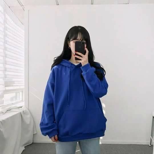 Áo hoodie trơn nỉ dày basic hoodie unisex   WebRaoVat