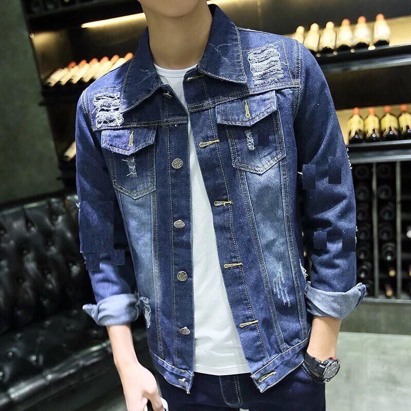 ÁO JEAN NAM CAO CẤP - Áo khoác jeans