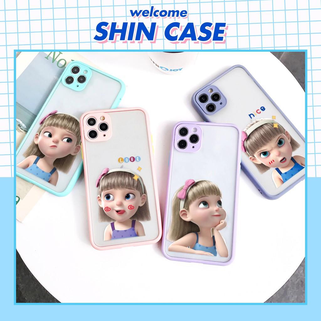 Ốp lưng iphone Baby Girl bảo vệ camera 5s/6/6plus/6s/6splus/6/7/7plus/8/8plus/x/xs/xsmax/11/11pro/11promax– Shin Case
