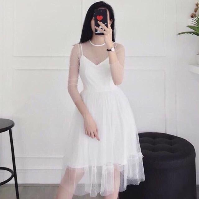 Đầm xoè ren Prince Dress