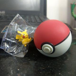 Mô hình pokemon_Tiny Ball Pikachu