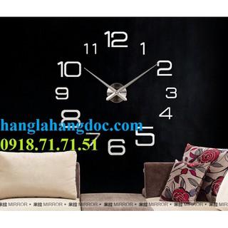 Đồng hồ DIY dán tường cỡ đại giá rẻ mẫu số 2