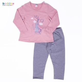 Đồ bộ Beddep Kids Clothes chất thun in hình hươu cho bé gái từ 1 đến 8 tuổi BP-G10 thumbnail