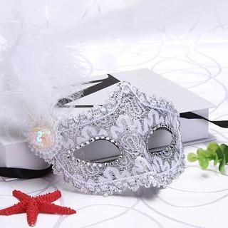 (MS45) mặt nạ lông vũ có đèn mã số VF5436