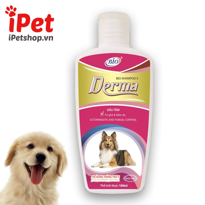 Sữa Tắm Dưỡng Da Trị Ghẻ, Nấm Cho Chó - Bio Derma - iPet Shop