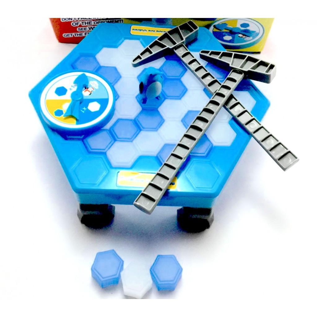 Đồ Chơi Đập Băng Chim Cánh Cụt Cho Bé - Trò Chơi Nhóm Vui Nhộn Dream Toy