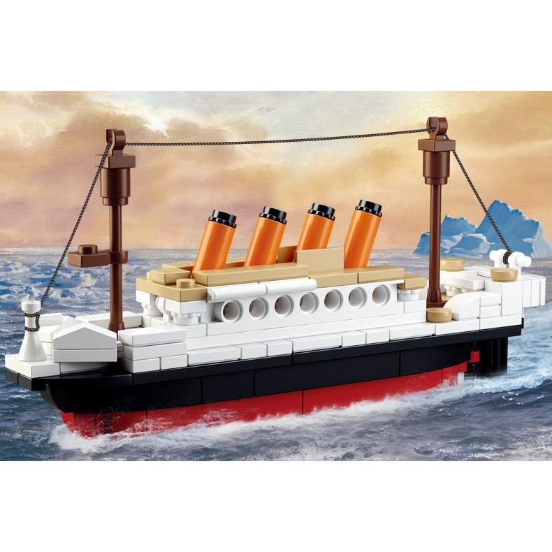 Đồ chơi mô hình lắp ráp hình tàu TITANIC