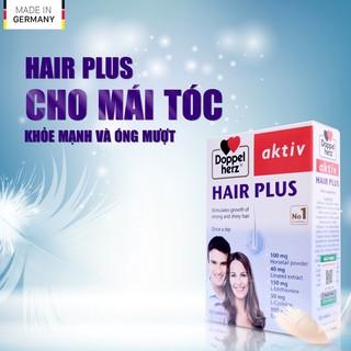 (Nhập khẩu chính hãng) Viên uống Chống Rụng Tóc và Kích Thích Mọc Tóc Doppelherz Aktiv Hair Plus (Hộp 30 viên) thumbnail