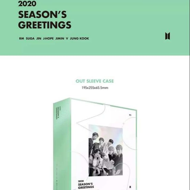 [ORDER] 2020 SEASON'S GREETINGS BTS
