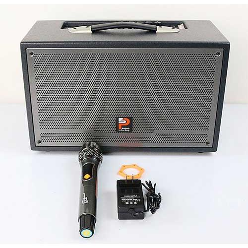 Loa kéo xách tay Prosing W-Silver E – Loa karaoke thùng gỗ cao cấp - Hàng chính hãng